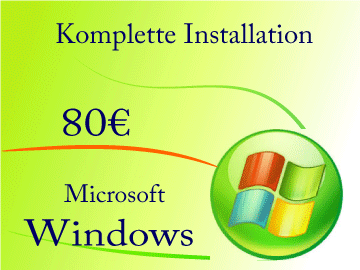 Betreibssystem Windows neu installieren